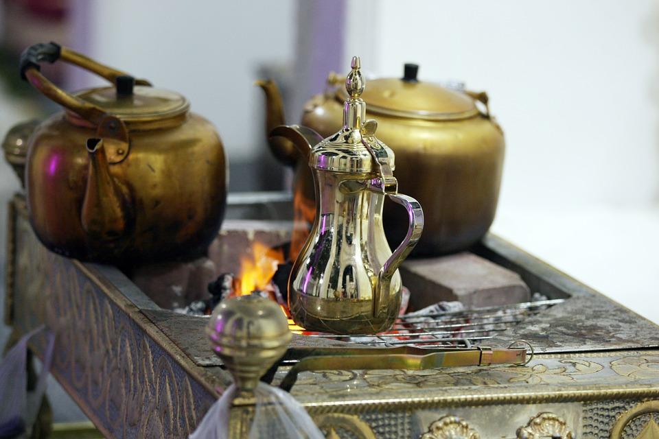 Arabian Coffee, Arabic Coffee Pots
