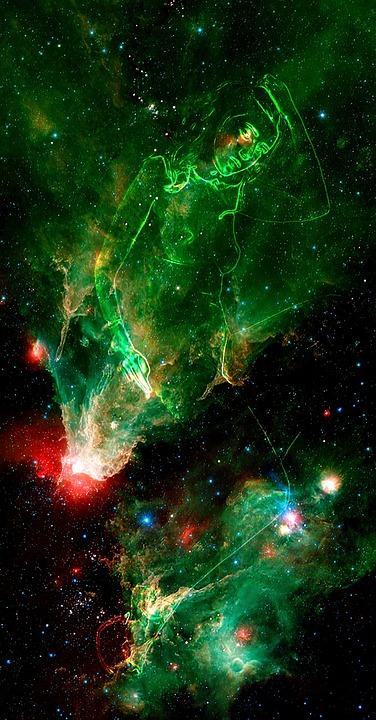 Space Fantasy Art Free Photo On Pixabay