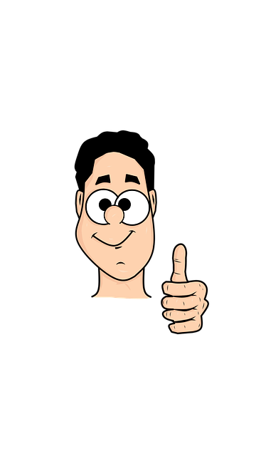 Man Cartoon Thumbs Up Free Image On Pixabay