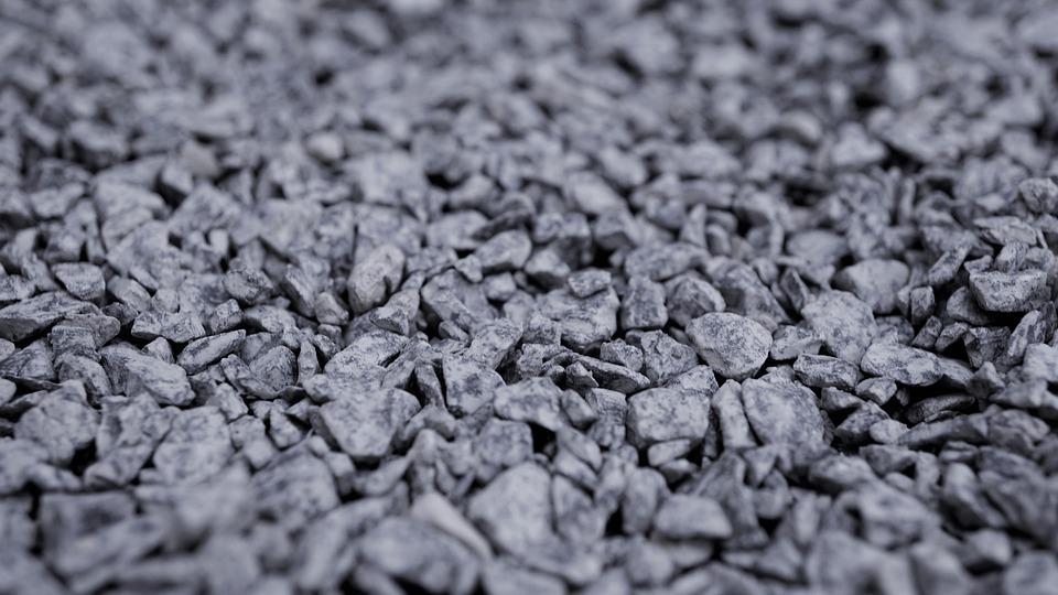 Grit, Stones, Grey, Background, Pattern, Structure