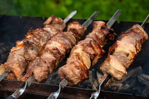 Σουβλάκια, Κρέας, Bbq, Τροφίμων