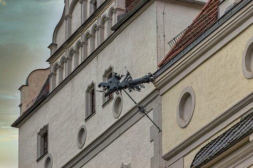 Castle, Boitzenburg, Uckermark, Close Up