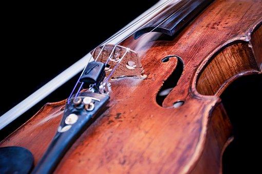 loose violin string