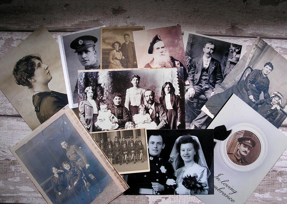 Genealogy, Family Tree, Lineage, Old Pictures, Family