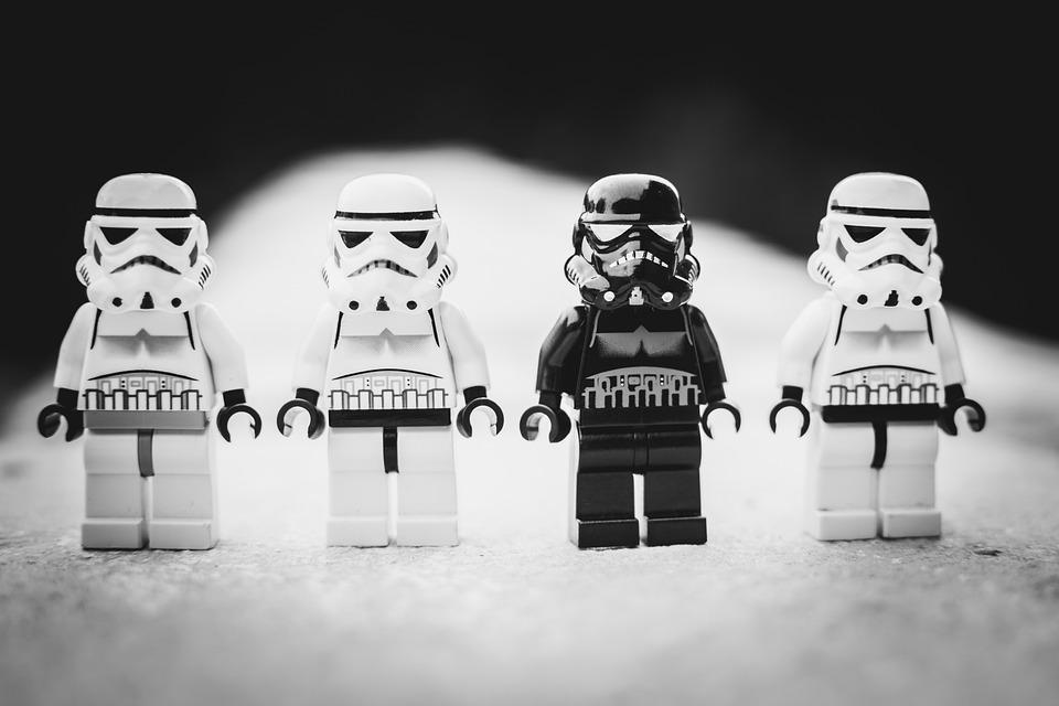 Star Wars, Lego, Stormtrooper, White, Toy, Evil