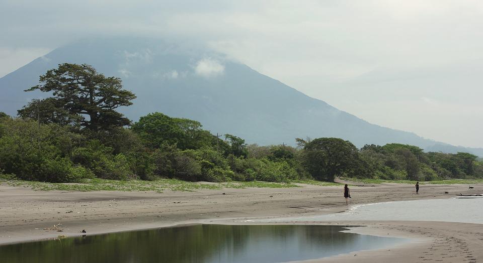 Ometepe, Nicaragua, Volcan, Île, Lac, Concepcion