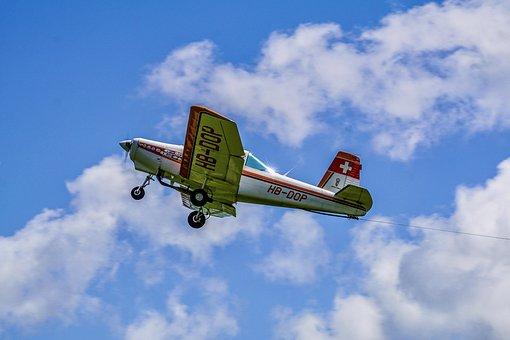 航空機, スポーツ機, プロペラ, プロペラ飛行機, 軽飛行機, 航空スポーツ