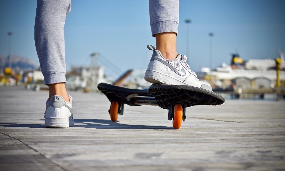 Skateboard, Voeten, Schoenen, Guy, Het Schaatsen