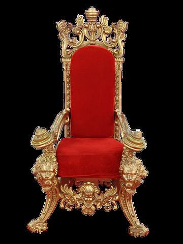 Throne, Chair, Seat, Royal, Throne