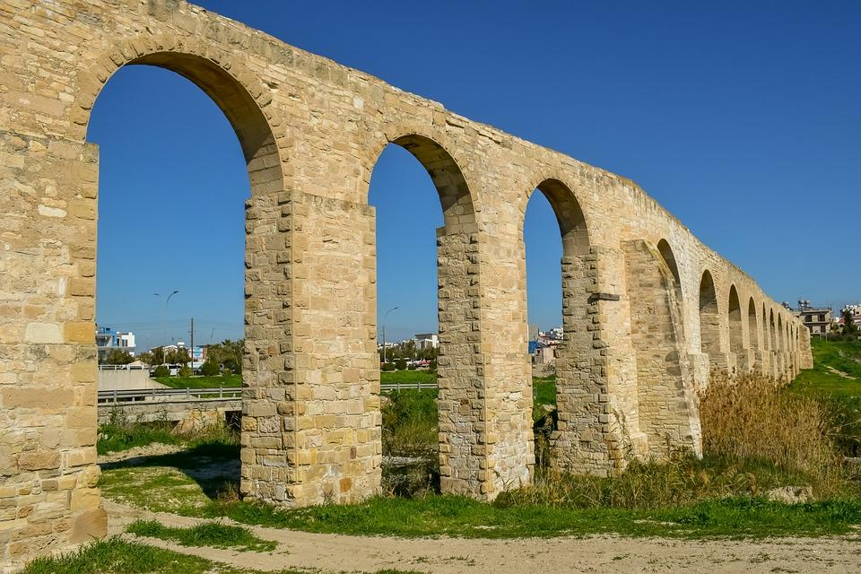 Kamares Aqueduct, Aqueduct, Architecture, Water, Stone