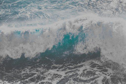 Wave, Huge, Wild, Ocean, Water, Nature
