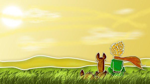 The Little Prince, Fox, Little Prince
