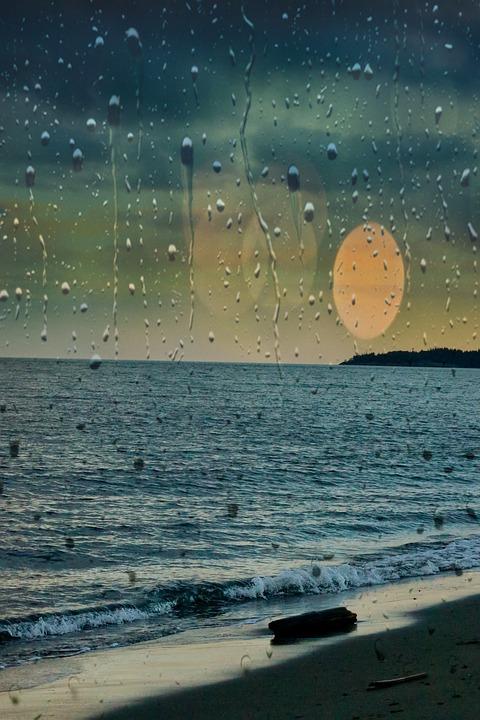 Playa Gotas De Lluvia El Agua - Foto gratis en Pixabay