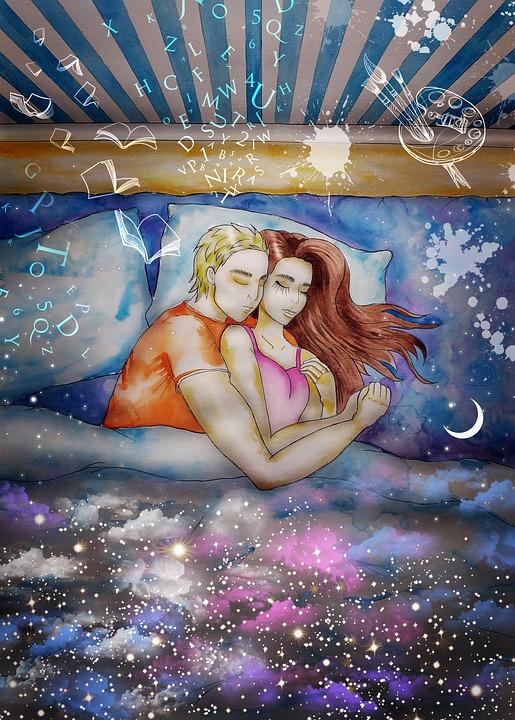 Dream, Fantasy, Dreams, Hope, Magic, Story, Night