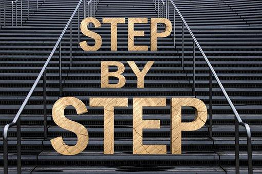 階段, 徐々に, 成功, 徐々 に, キャリア, アップ, 上昇, ステージ