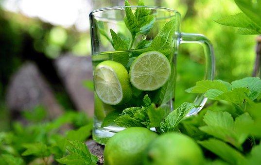 Mint, Peppermint, Detox, Detox Water