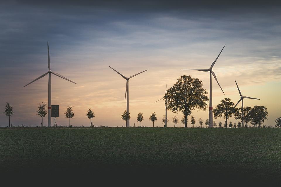 Éolienne, Moulinet, Énergie Éolienne, Windräder