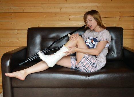 Ambulance, Trauma, Fracture, Crutches,Bone fracture