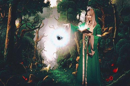 Tomtar, Elf, Magic, Förtrollning