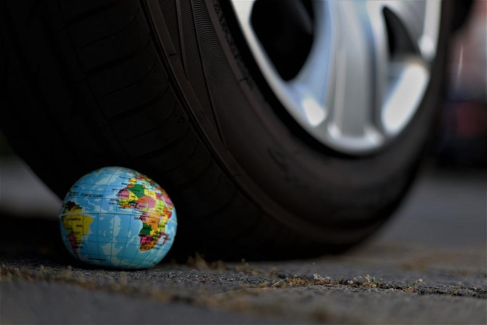Terra, Auto, Cambiamento Climatico, Veicolo, Pkw, Umano