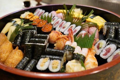 寿司, 和食, Sushi, 日本食, 食事, 料理, レストラン, 鮨