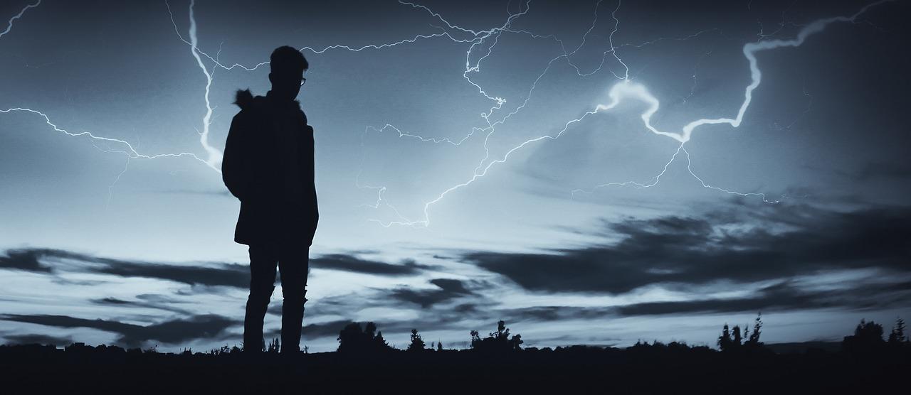 Fulmine Nuvole Nere Tenebre - Foto gratis su Pixabay