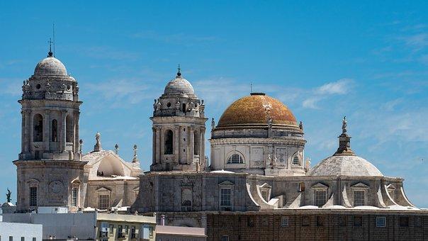 Cádiz, España, Catedral, Arquitectura
