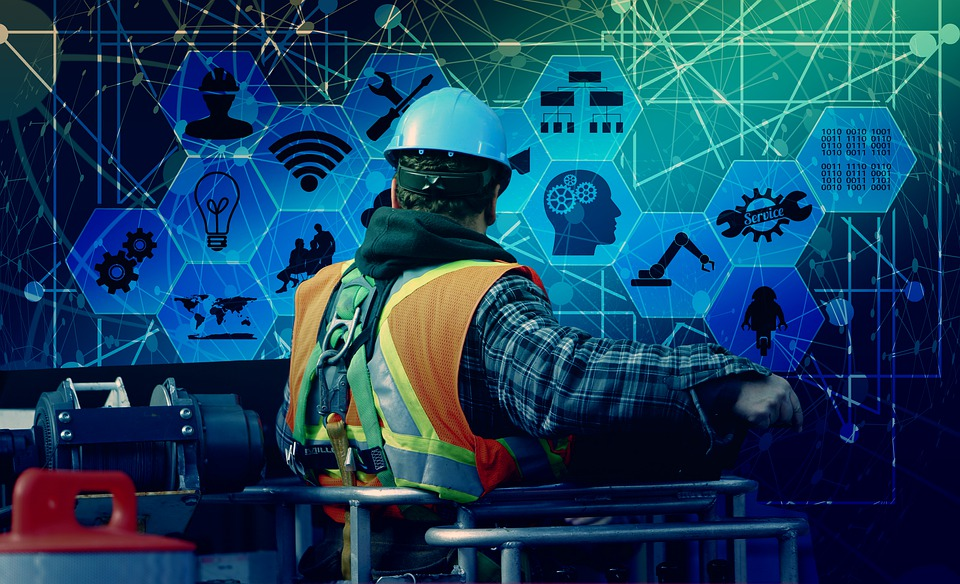 Workers, Technology, Industry, Industry 4, Web, Network