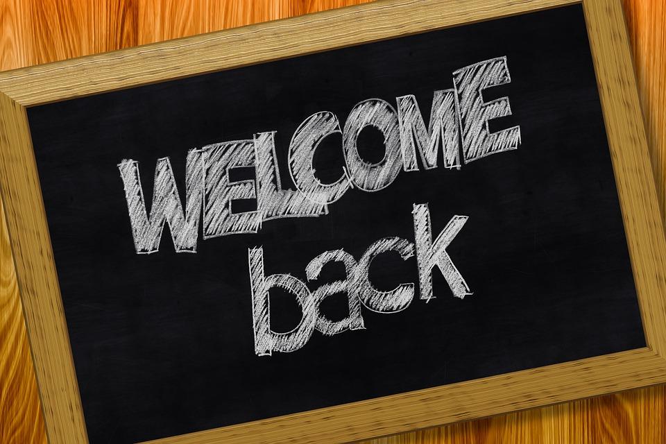 Welcome Back School - Free image on Pixabay