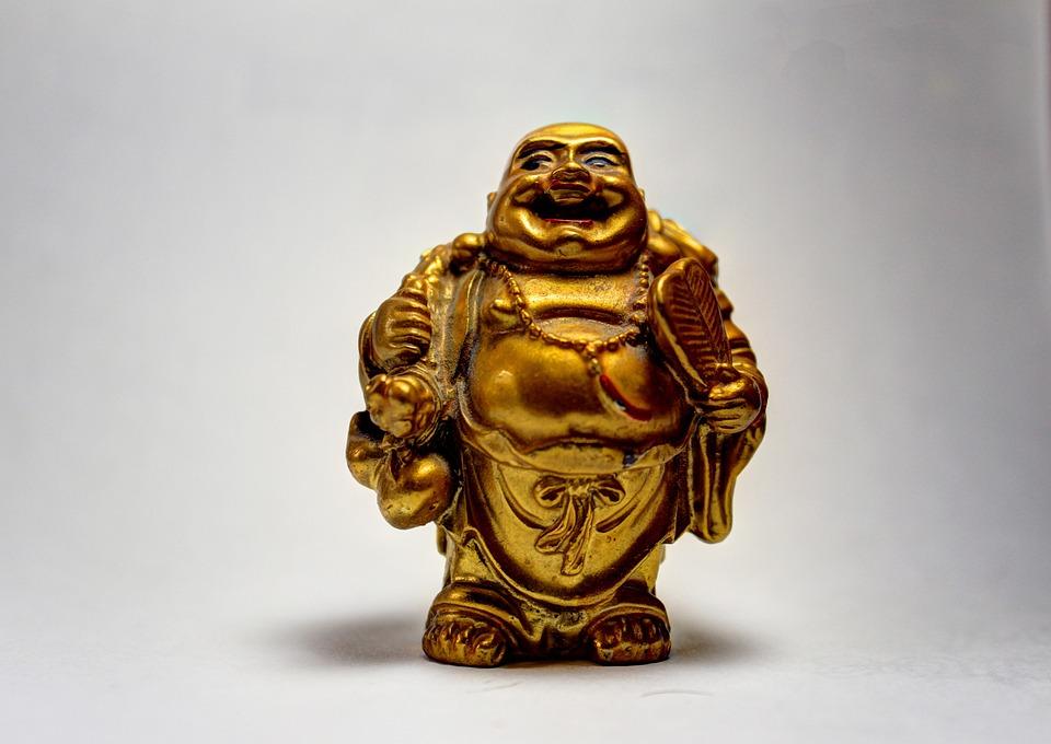 Lachen, Boeddha, Standbeeld, Boeddhisme, Beeldhouwkunst
