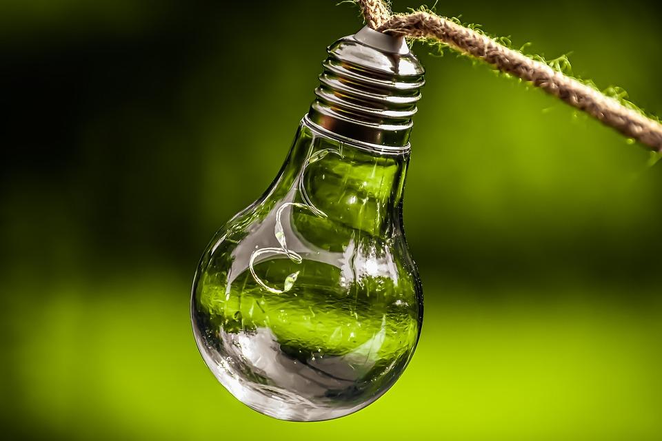 Glühbirne, Energie, Natur, Umwelt, Ökologie, Licht