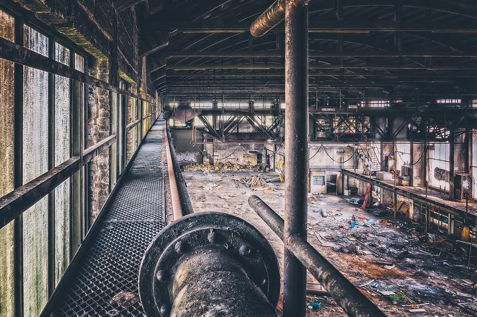 Hall, Factory, Industry, Pforphoto, Factory Building