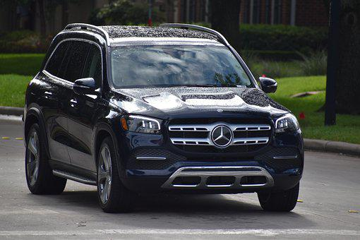 Mercedes-Benz, Gls, Suv, Black, Vehicle