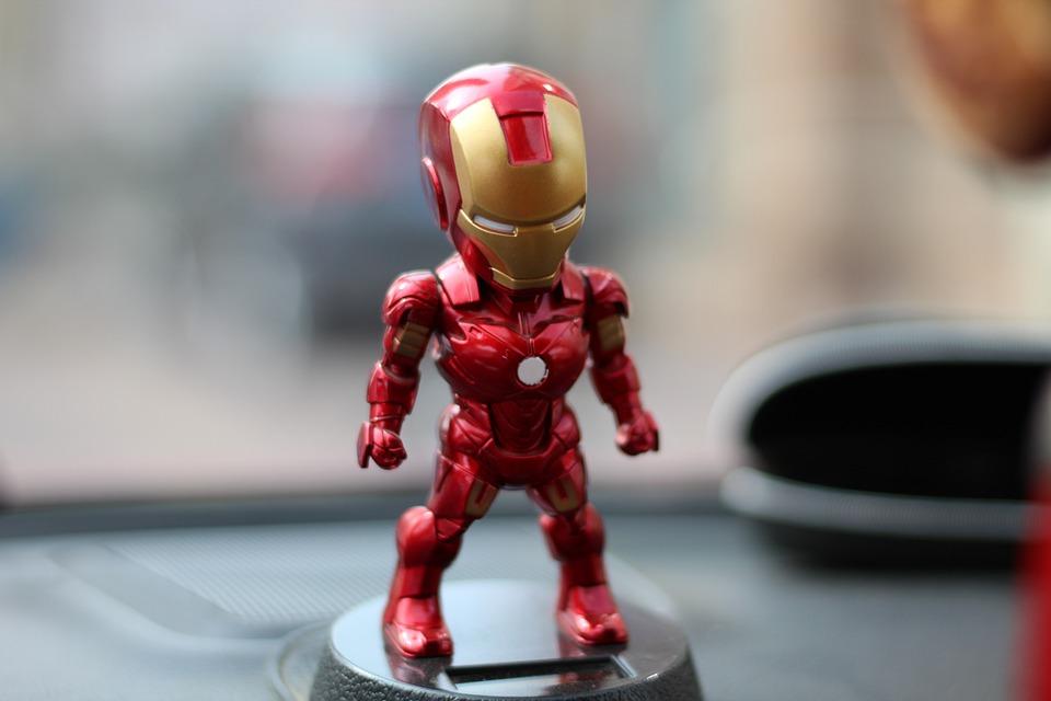 Iron Man, Mains À Faire, Voiture, Jouets, Poupée, Shake