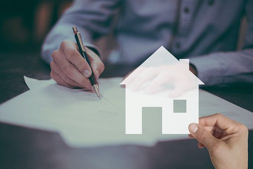 Mortgage, House, Contract, Sign, Home