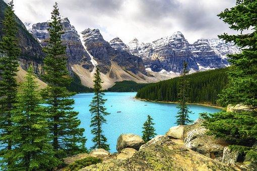 Estate, Montagne, Panorama, Natura