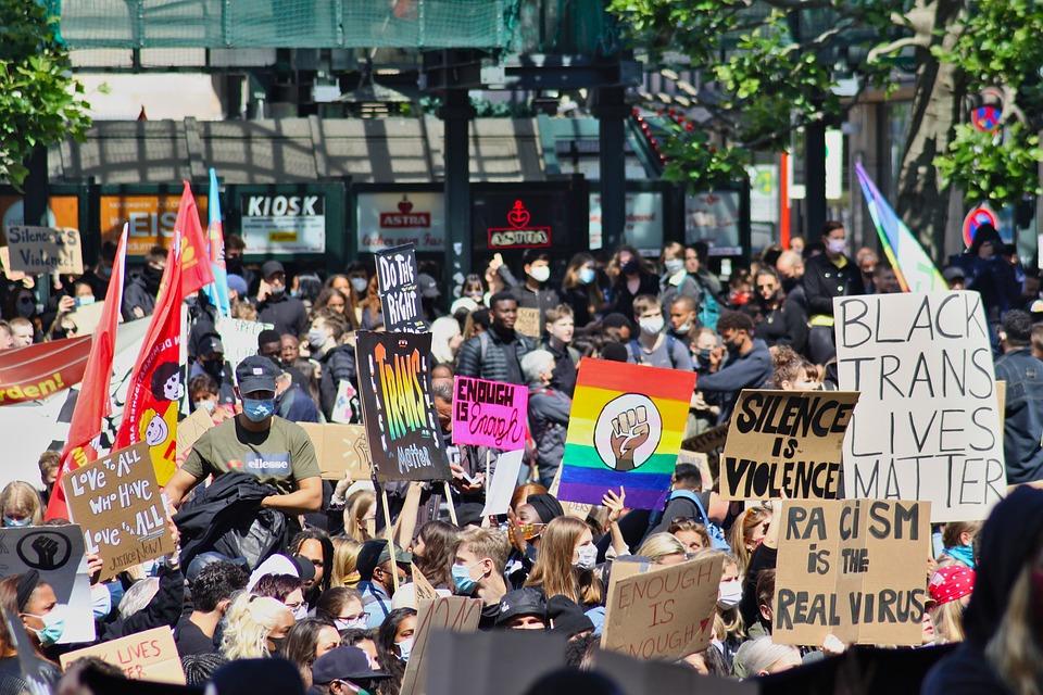 Blm, Černá Životy Záleží, Protest, Policie