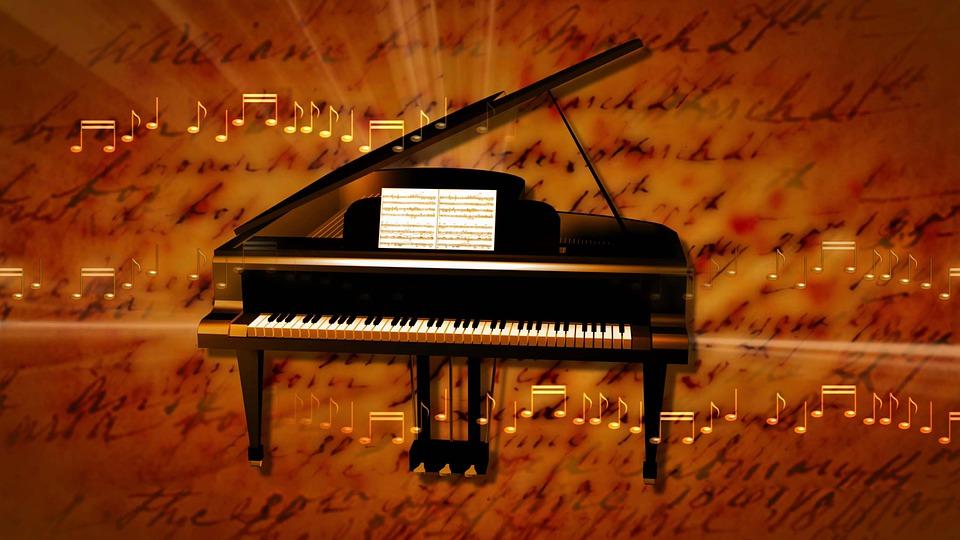 Grand Piano, Music, Instrument, Piano, Keyboard