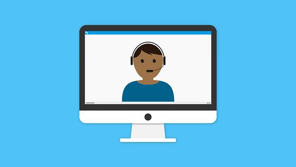 オンライン, 学習, 呼び出す, ウェビナー, E ラーニング, 技術