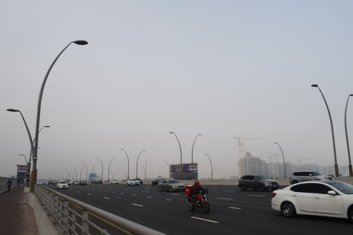 Foggy Weather, City Weather