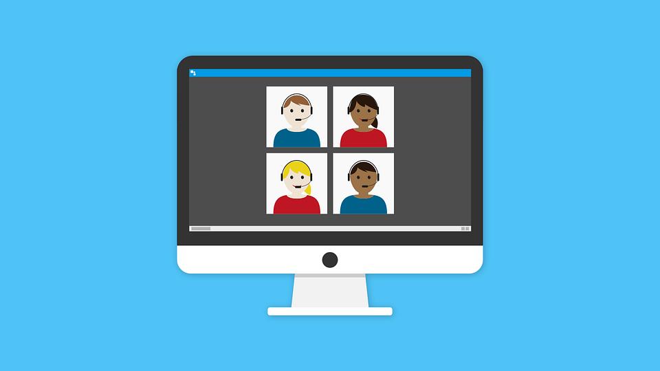 Online, Lernen, Anruf, Webinar, E-Learning, Technologie