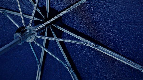 Umbrella, Metal, Rainy Weather, Rain