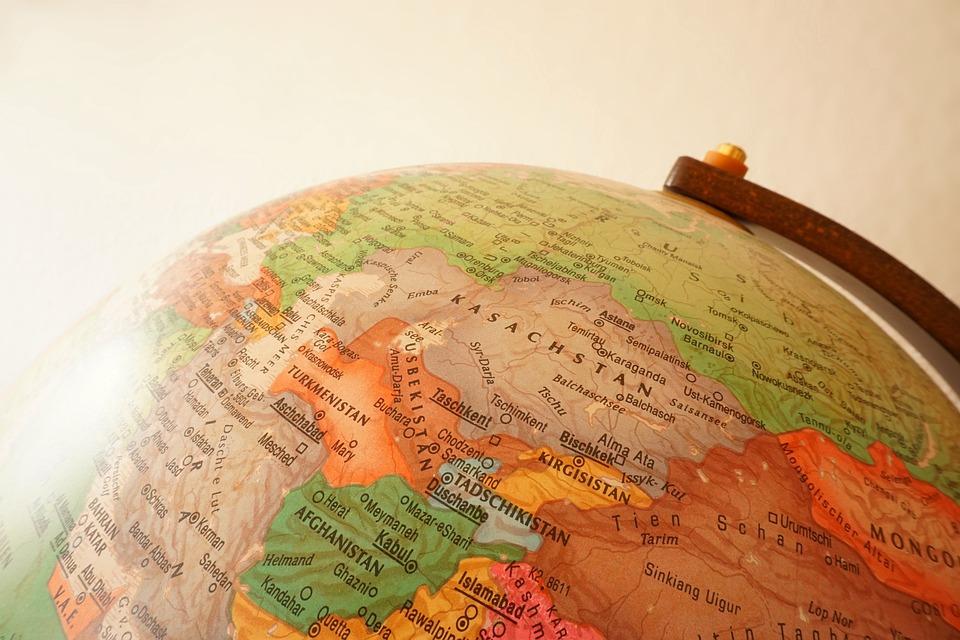 Uzbekistan, Globe, Kazakhstan, Travel, World, Map