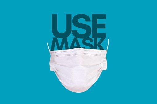 マスクの使用を, 使用, マスク, Coronavirus