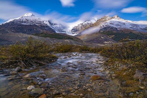 Montagne, Panorama, Fiume, Natura, Cielo