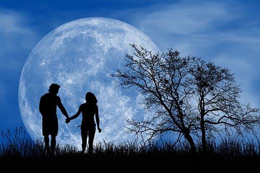 Romantic, Romantic Night, Full Moon