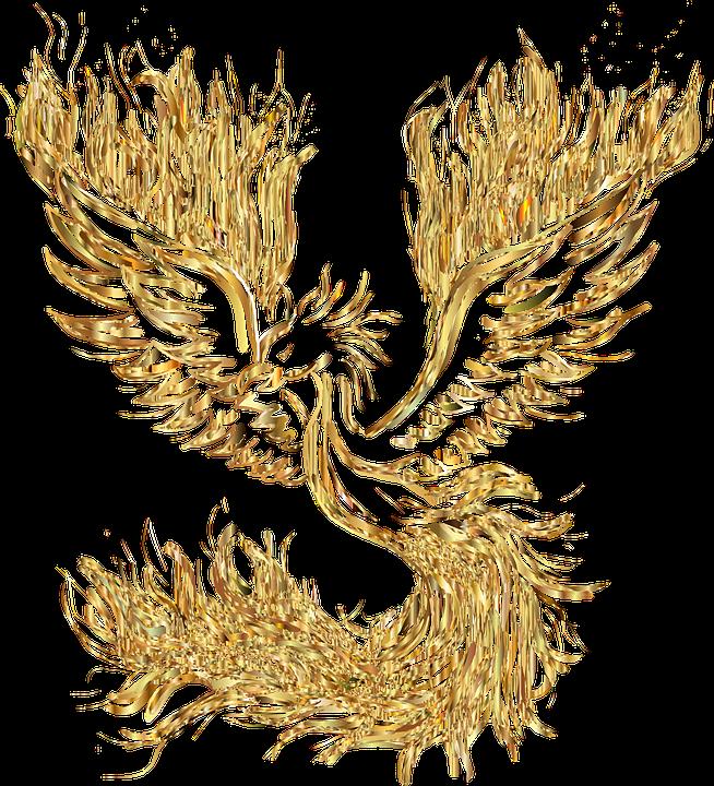 Феникс, Птица, Возрождение, Пожар, Пламя, Сжигание