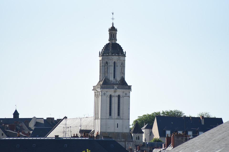 Angers, France, Cathédrale, Architecture, Église