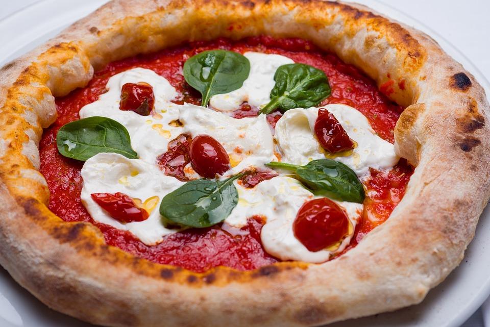 ピザ, キッチン, ピザ屋, 食品, トマト, パスタ, 小麦粉, 栄養, 食べる, ダイエット, 佐野