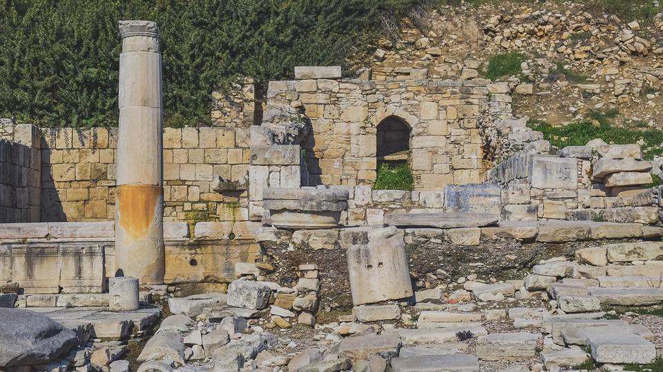 Ruins, Amathus, Ancient Amathus, Royal City
